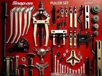 $2850 • Buy Snap On Tools CJ2000S Master Puller Set, W/Control Board,  NO CABINET INCLUDED!