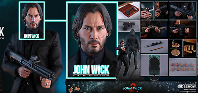 AU503 • Buy Hot Toys John Wick 2 Keanu Reeves 1/6 Scale Action Figure MMS504