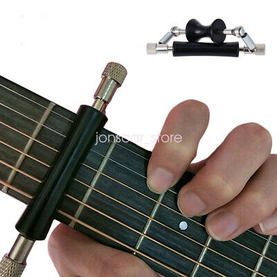$ CDN7.59 • Buy Universal Guitar Part Rolling Capo Glider For Electric Guitar Ukulele 6-String