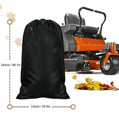 AU41.74 • Buy Large Lawn Tractor Leaf Bag Oxford Cloth Fallen Leaves Collection Waste Bag Tool