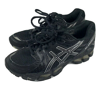 $45 • Buy Asics GEL Kayano 17 Running Black Sneakers T150N Women's Sz 7.5 Premium [q10]