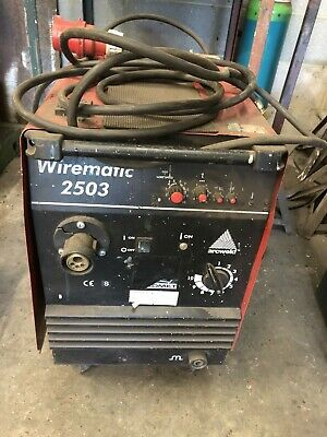 £480 • Buy Lincoln Wirematic 2503 Mig Welder. Used, Collection Only. No Gun