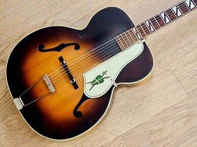 $ CDN1361.99 • Buy 1950s Silvertone Model 670 Vintage Kay-Made USA Archtop Acoustic Guitar W/ Case