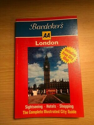 £5.75 • Buy Vintage Baedeker's 1987 London City Guide By The AA Paperback - Mint Condition