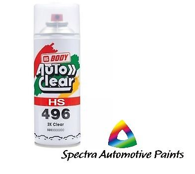 AU26.40 • Buy 2k Gloss Clear Paint Hs 400ml High Spray Touch Up Automotive Top Coat. Hb 496