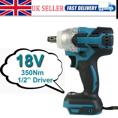 FOR MAKITA DTW285Z 18V 1/2  Impact Wrench For Scaffolding BODY ONLY Unbranded • 26.50£