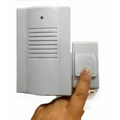 Wireless Door Bell Cordless Ringer Digital Portable 16 Melody Door Chime Kit  • 7.35£