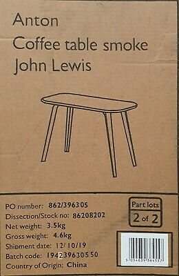 BNIB John Lewis Anton Coffee Table Legs In Oak ( Box 2 Of 2) CLEARANCE STOCK • 19.99£