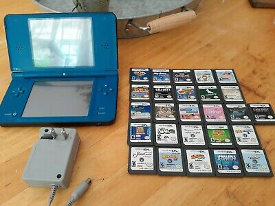 $150 • Buy Nintendo Blue DSi XL With 26 Games And Charger