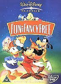 Fun And Fancy Free (DVD, 2002, Live Action / Animated) • 4.98£