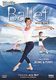 Ballet Workout - For Legs, Tums And Bums (DVD, 2010) • 7.98£