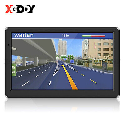 AU69.69 • Buy XGODY 7  GPS SAT NAV NAVIGATION For CAR TRUCK HGV LGV + FREE 2D 3D MAPS