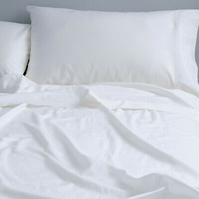AU89.99 • Buy Canningvale Bamboo Cotton 400 Thread Count Antibacterial Sheet Bedding Set Queen