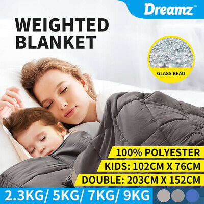 AU59.99 • Buy DreamZ Weighted Blanket Heavy Gravity Deep Relax 5/7/9KG Adult Kid Double Queen