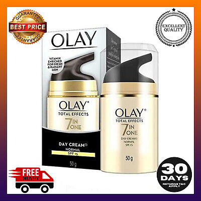 AU29.99 • Buy Olay Total Effects Face Moisturiser Normal SPF15 50g 7in1 Day Cream