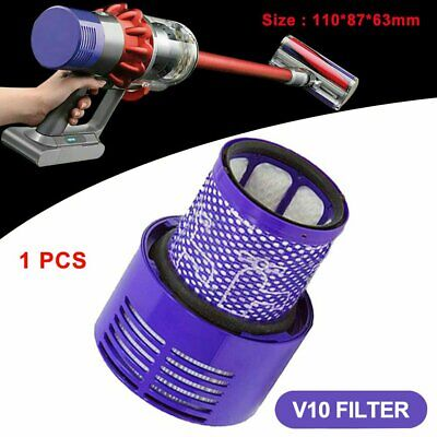 AU13.93 • Buy Filter For DYSON V10 Cyclone Animal Absolute Total Clean Washable Replace SP
