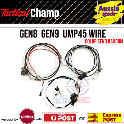 AU21.79 • Buy Gen 8 Gen 9 Ump45 M4A1 Wire Wires 10A AMP OMRON SWITCH JinMing M4A1 Gel Blaster