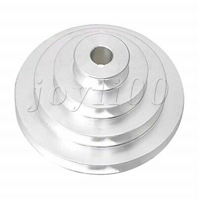 AU36.16 • Buy Aluminum 16mm Dia Bore V-Type 4 Step Belt Pulley For Motor Shaft Drive