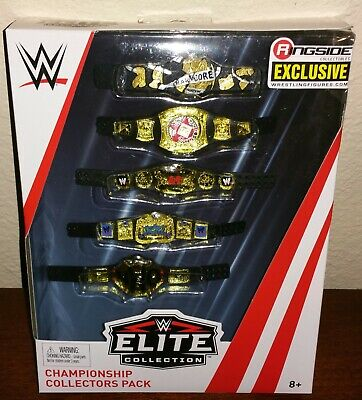 $110 • Buy WWE Elite Ringside Exclusive Championships Belts NWO Rated R Smackdown Raw Tag