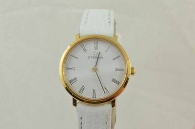 Eterna Vintage Quartz Women's Watch 25MM Steel Gold Plated • 197.56£