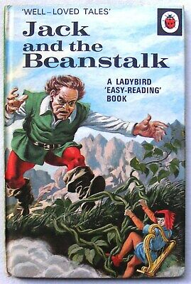 Vintage Ladybird Book - Jack And The Beanstalk - WLT 606D - 15p - Near To Fine • 16.99£