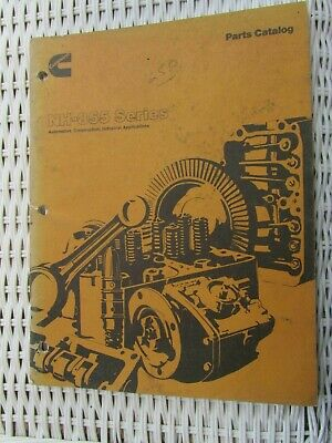 AU24.60 • Buy Cummins Parts Catalog NH-855 SERIES  Automotive,CONSTRUCTION,INDUSTRIAL APP.