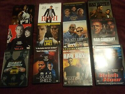 $ CDN24.49 • Buy Assorted DVDs, Lot Of 12, Will Smith. Samuel Jackson, Bad Boys, Free Shipping