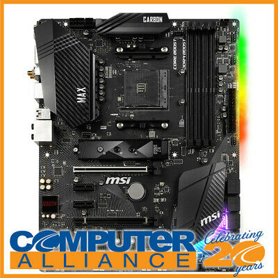 AU299 • Buy MSI AM4 ATX B450 GAMING PRO CARBON MAX WIFI Motherboard