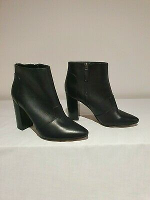 AU43 • Buy Brand New - Nine West Size 7 Black 'Hyra' Ankle Boots RRP $219.95