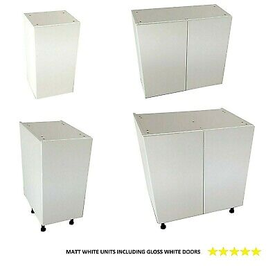 £380 • Buy Kitchen Units And White Gloss Doors Kitchen Base And Wall Units With Gloss Doors