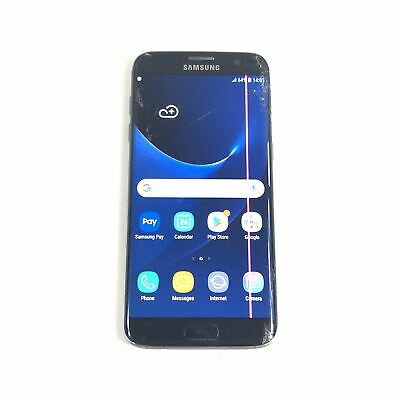 $ CDN103.36 • Buy Samsung Galaxy S7 Edge SM-G935F 32GB Black Unlocked Smartphone Read