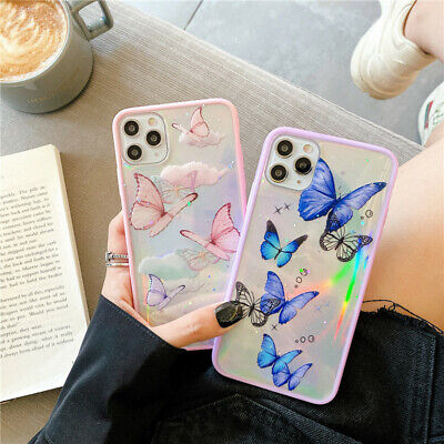 AU8.99 • Buy Butterfly Case For IPhone 12 11 Pro X XR XS Max 8 7 Plus Bling Glitter Cover