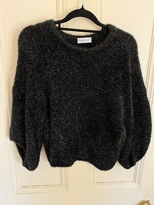 AU87.50 • Buy Scanlan Theodore Top, Black Tinsel, Size Small