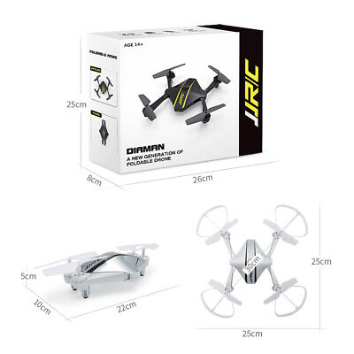 AU68.99 • Buy New JJR/C WIFI FPV 720P HD Camera Quadcopter Foldable RC Drone