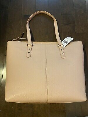 $ CDN140 • Buy NWT Kate Spade Larchmont Avenue Penny Pink Beige Leather Tote WKRU5374