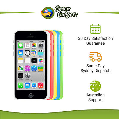 AU119 • Buy Apple IPhone 5C 4G 8/16/32 GB White Yellow Blue Green Pink Unlocked Smartphone