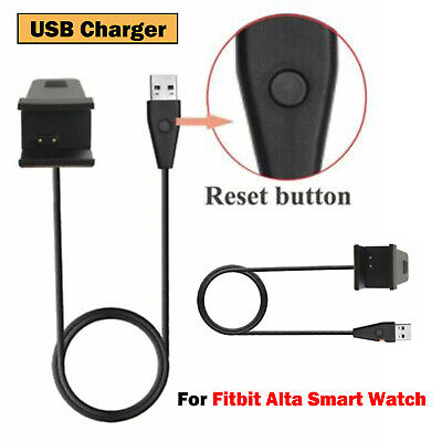 AU8.33 • Buy For Fitbit Alta Smart Watch USB Charger Charging Cable +Reset Button Replacement