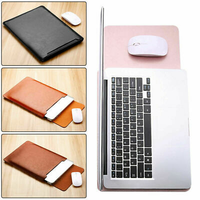 AU26.24 • Buy For Apple MacBook Air Retina 13.3 Inch 2020 A2179 PU Leather Sleeve Case Pouch