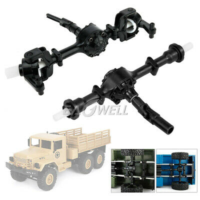 $10.94 • Buy For WPL B-1 1:16 Military Truck RC Crawler Front Rear Bridge Axle Replace Parts