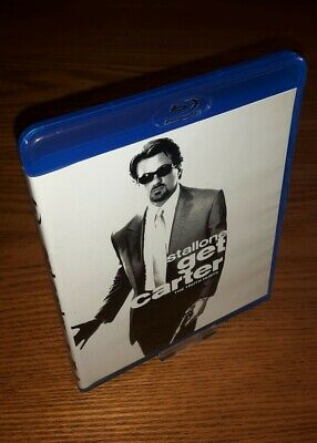 GET CARTER Bluray Rare OOP Discontinued US Import Region A Free Abc (no UK Vrsn) • 49.99£