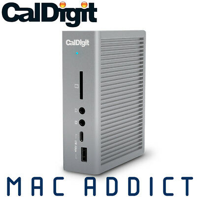 AU399.95 • Buy CalDigit TS3 Plus Thunderbolt 3 USB-C Hub W/ DisplayPort Ethernet & SD Reader