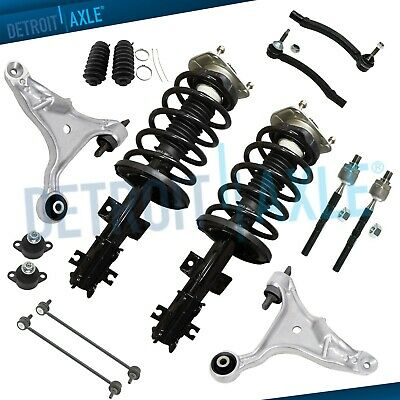 $322.29 • Buy 14pc Front Struts Sway Bar Lower Control Arm Ball Joint Tierod For Volvo S60 V70