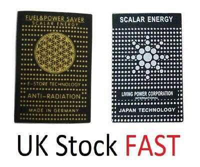 £6.47 • Buy 6 X Anti Radiation Quantum Protector Shield Cell Phone Laptop Mobile Sticker 5G