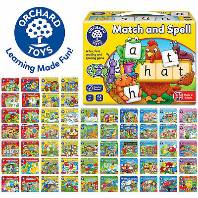 Educational Games Made In UK By Orchard Toys - Huge Selection Of Children Games • 10.99£