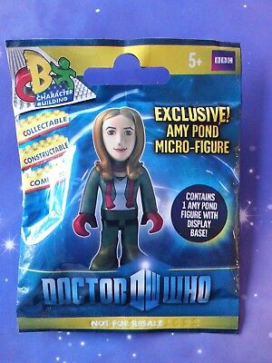 Doctor Who Amy Pond Green Top Boots Character Building Micro Figure UK Exclusive • 1.99£