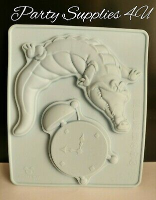 Disney Crocodile & Clock Silicone Mould Chocolate/party/sweet/cupcakes/Peter Pan • 5.99£