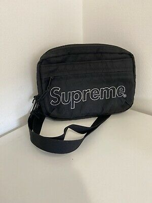 $ CDN189.99 • Buy Supreme Shoulder Bag FW18 Side Messenger Bag Black Great Condition Authentic