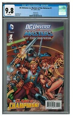 $74.95 • Buy DC Universe Vs. Masters Of The Universe #1 (2013) Variant Cover CGC 9.8 GG353