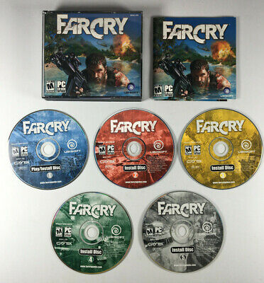 AU18.31 • Buy Far Cry PC CD-ROM Game FarCry 5 Discs & Manual 2004 Ubisoft Win 98SE/2K/XP