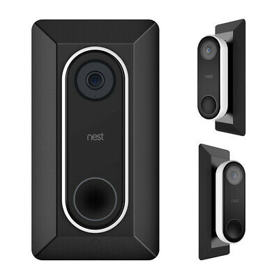 AU21.99 • Buy HOLACA Wall Plate For Nest Hello Video Doorbell & L35°/ R35 ° Angle Wedge Mount